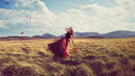 站在烦恼里仰望幸福